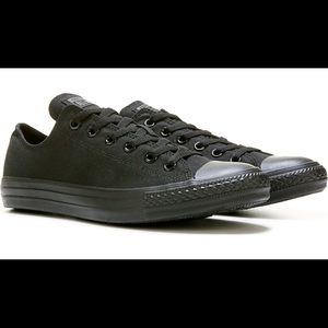 Converse Low Top All Black Chuck Taylor Sneakers